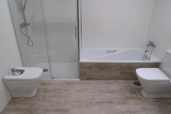Reforma de baño Salinas